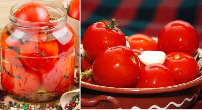 квашеная помидора